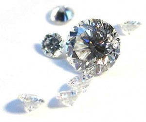 Diamant i brijantslipning. Foto: Mario Sarto/Wikimedia